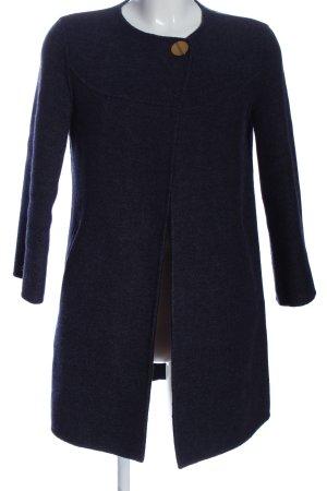 Zara Woman Übergangsmantel blau Business-Look