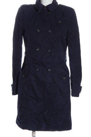 Zara Woman Übergangsmantel blau Casual-Look