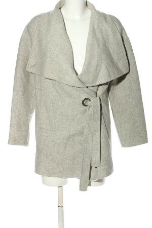 Zara Woman Übergangsmantel hellgrau Casual-Look