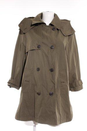 Zara Woman Übergangsmantel grüngrau Casual-Look