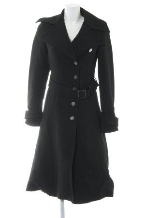 Zara Woman Übergangsmantel schwarz Business-Look