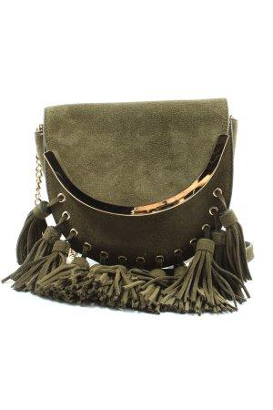 Zara Woman Umhängetasche khaki Casual-Look