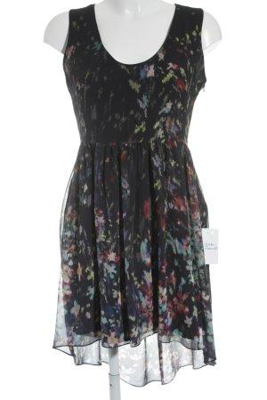 Zara Woman Vokuhila-Kleid Motivdruck minimalistischer Stil
