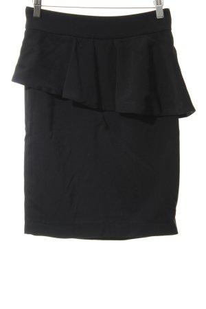 Zara Woman Volantrock schwarz Elegant