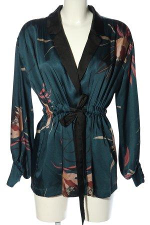 Zara Woman Wickel-Bluse Allover-Druck Casual-Look