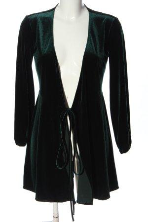 Zara Woman Robe portefeuille vert élégant