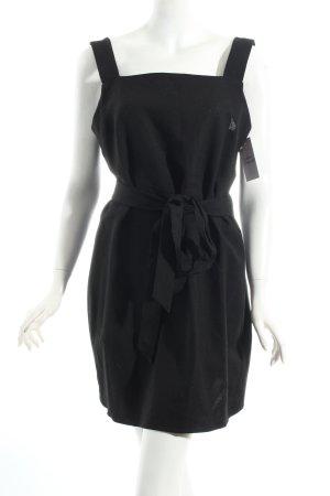 Zara Woman Wickelkleid schwarz