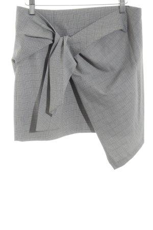 Zara Woman Falda cruzada gris claro