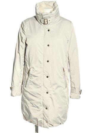 Zara Woman Kurtka zimowa w kolorze białej wełny W stylu casual