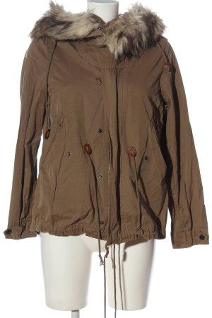 Zara Woman Kurtka zimowa brązowy W stylu casual