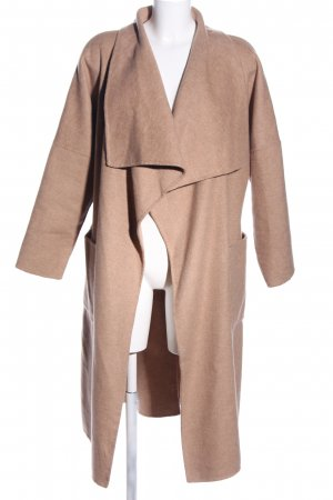Zara Woman Wintermantel nude Casual-Look