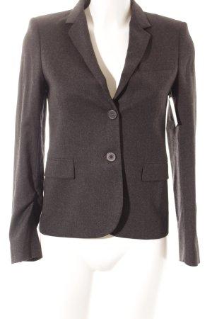 Zara Woman Woll-Blazer anthrazit Business-Look