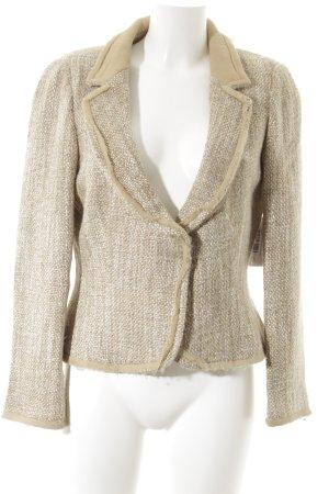 Zara Woman Woll-Blazer mehrfarbig Elegant
