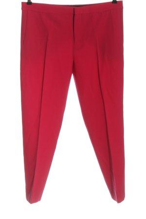 Zara Woman Pantalon en laine rouge style décontracté