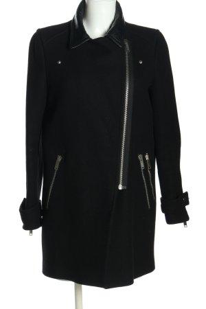 Zara Woman Cappotto corto nero stile casual