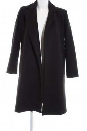 Zara Woman Wool Coat black casual look