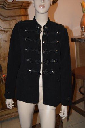 Zara Woman Giacca militare nero