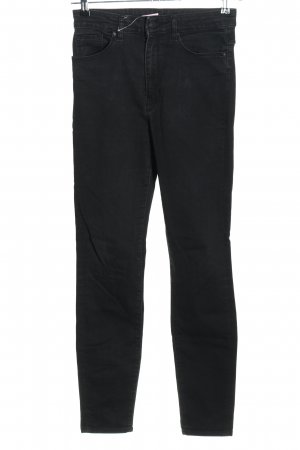 Zara Women Jeans taille haute noir style décontracté