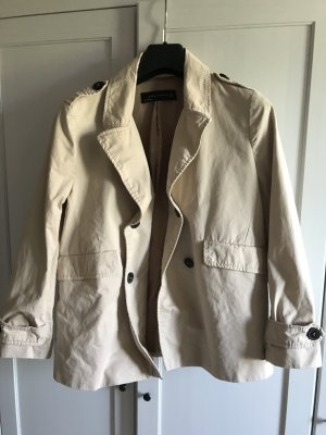 Zara Women Kurzjacke/Trenchcoat Jacke, Beige