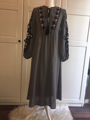Zara Women Strickkleid ballonärmel Gr.XS/S Traumhaft❤️