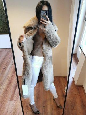 Zara Women Studio echtfell Echtpelz Leder Leather