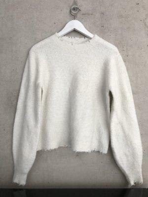 Zara wool pullover weiß