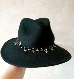 Zara Chapeau en laine noir