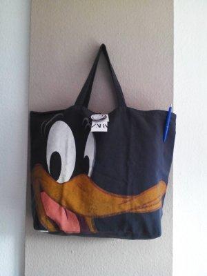 Zara wunderschöne Shopper Tasche mit Donald Duck, neu