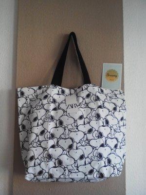 Zara wunderschöne Shopper Tasche mit Snoopy-Print, neu