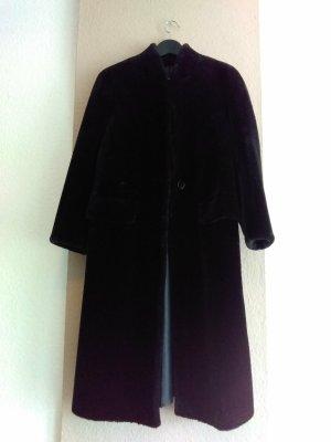 Zara wunderschöner Mantel aus künstlichem Fell in schwarz, Grösse S, neu