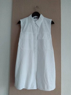 Zara wunderschöner Overall mit Lochstickerei aus 100% Baumwolle, Grösse M, neu