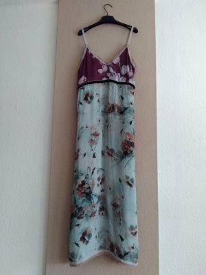 Zara wunderschönes geblümtes Midi-Trägerkleid aus 100% Viskose, Campaing Collection, Größe 36, neu