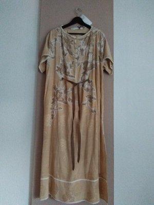 Zara wunderschönes gesticktes Tunika Kleid mit Schmuckperlen-Stickerei, Größe L, neu