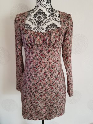 Zara wunderschönes Kleid langarm Gr.M 38 rosebunt