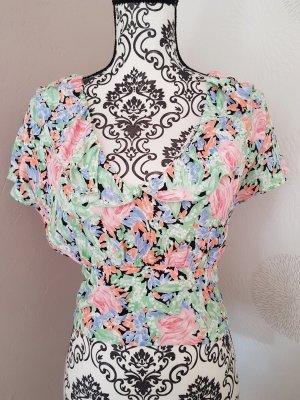 Zara wunderschönes Sommer Shirt Gr.S 36 pastellfarben
