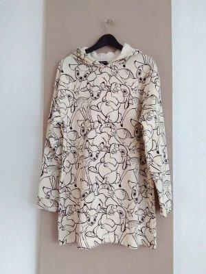 Zara wunderschönes Sweatshirt-Kleid, Disney Bambi, Grösse S, neu