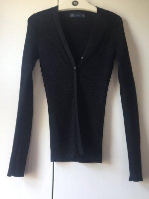 Zara Cardigan nero-argento