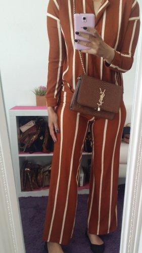 Zara Basic Trouser Suit orange