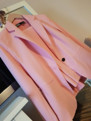 Zara Twin set in jersey rosa