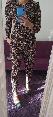 Zara Trouser Suit black-pink