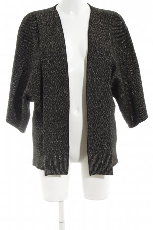 ZARAKNIT Cardigan schwarz Elegant