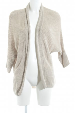 ZARAKNIT Strick Cardigan beige Casual-Look