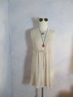 Zart Rosa American Vintage oversize Feinstrick Kleid 100% Cotton Frottee S 36 34 Cosy Sommerkleid