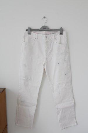 Zart rosane Jeans