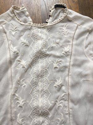 Set Blusa transparente blanco puro