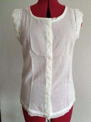 Girbaud Sleeveless Blouse natural white cotton