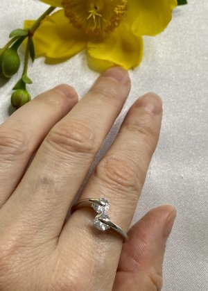 Zarte Ring 925 Silber Größe verstellbar