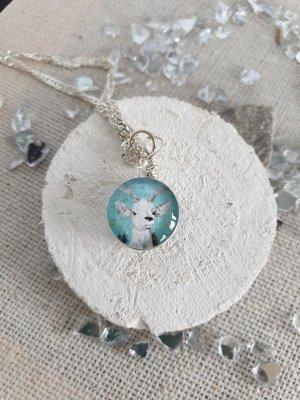 Silber Kette Silver Chain multicolored
