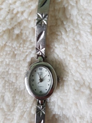 Watch With Metal Strap silver-colored-anthracite