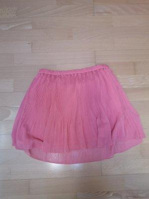 Zara Trafaluc Falda plisada salmón-rosa